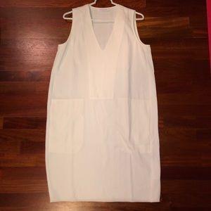 Everlane Japanese Goweave White Tank Dress Size 6